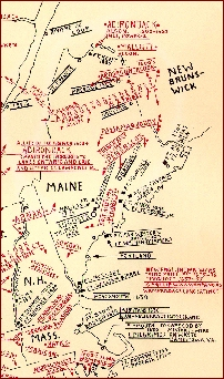 american indian, native american tribe map